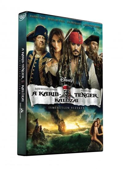 Rob Marshall - A Karib-tenger kalózai: Ismeretlen vizeken - DVD