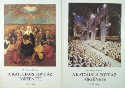 Szántó Konrád - A katolikus egyház története I-II.