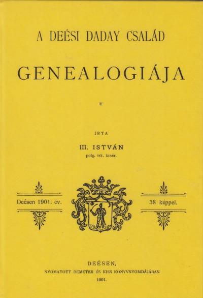 - A deési Daday család genealogiája