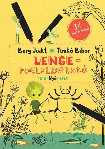 Berg Judit - Lenge-foglalkoztató - Nyár - 16 matricával