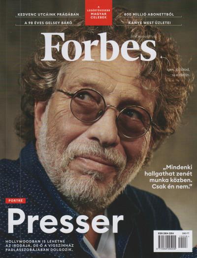 - Forbes magazin - 2019. augusztus