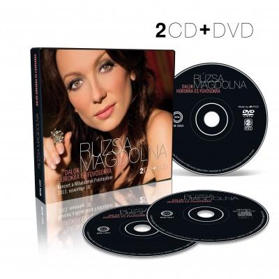 Rúzsa Magdolna - Rúzsa Magdi - Dalok húrokra és fúvósokra - 2CD+DVD