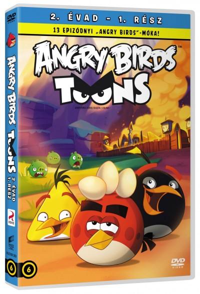 - Angry Birds 2. évad. 1-13.rész - DVD