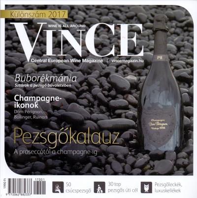 Németh Ágnes  (Szerk.) - Pezsgőkalauz 2017 - Vince Magazin különszám