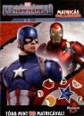 - Amerika Kapitány - Polgárháború matricás foglalkoztató