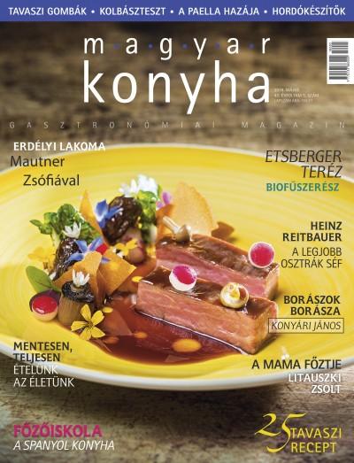 - Magyar Konyha 2018. május (42. évfolyam 5. szám)