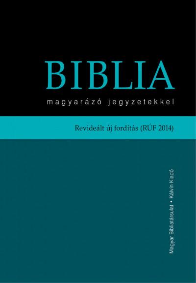 - Biblia magyarázó jegyzetekkel