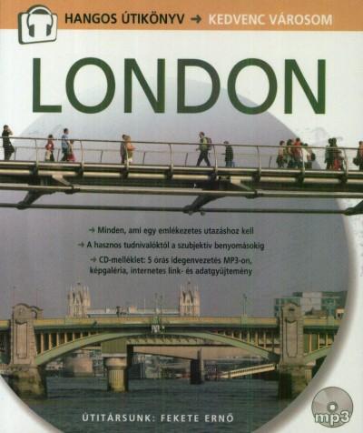 Cooper Eszter Virág  (Szerk.) - London - CD melléklettel