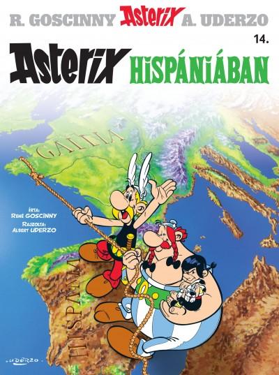 René Goscinny - Albert Uderzo - Asterix 14. - Asterix Hispániában