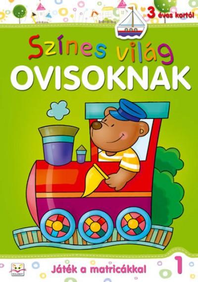 Anna Podgórska - Színes világ ovisoknak - Játék a matricákkal 1.