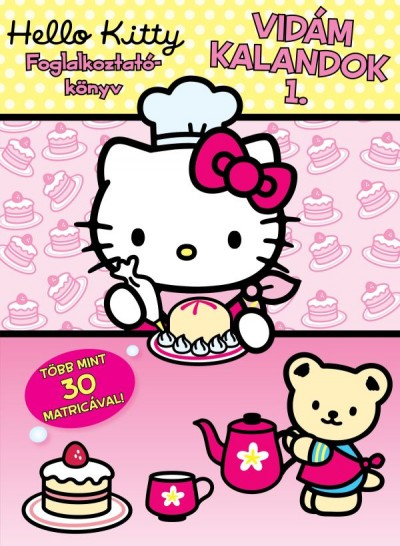 - Hello Kitty - Foglalkoztatókönyv