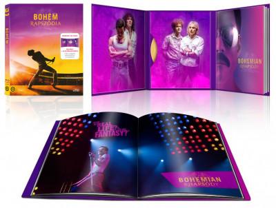 David Fletcher - Bryan Singer - Bohém rapszódia - limitált, digibook változat - Blu-ray
