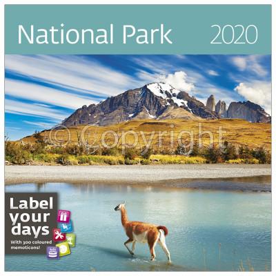 - Dayliner falinaptár - National Parks LP 2020