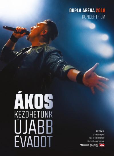Ákos - Kezdhetünk újabb évadot - Dupla Aréna 2018 - DVD
