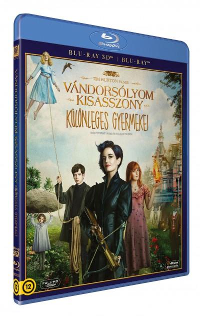 Tim Burton - Vándorsólyom kisasszony különleges gyermekei - 3D Blu-ray + Blu-ray