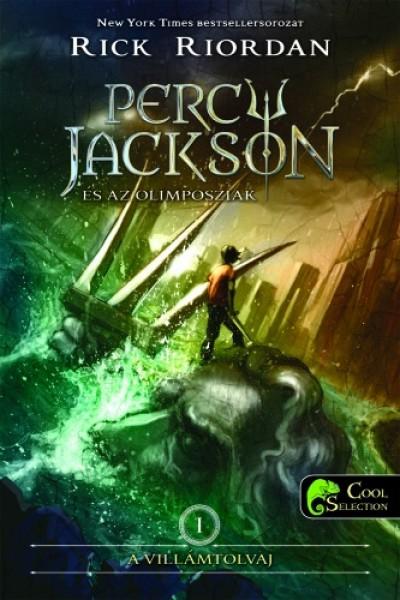 Rick Riordan - Percy Jackson és az olimposziak 1. - A villámtolvaj - kemény kötés