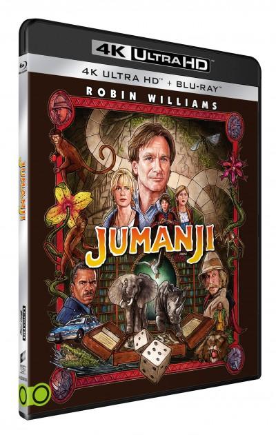 Joe Johnston - Jumanji (1995) - 4K Ultra HD + Blu-ray