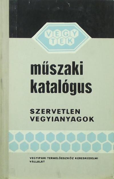 - Műszaki katalógus
