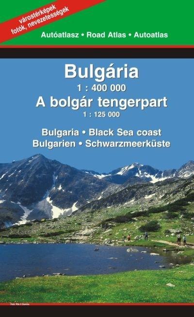 - Bulgária 1:400 000 - A bolgár tengerpart 1:125 000
