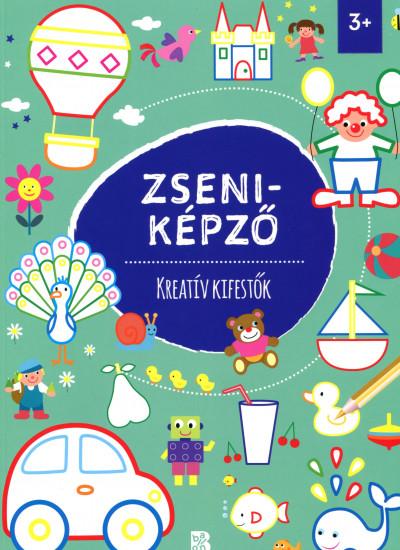 Tóth Eszter  (Szerk.) - Zseniképző - Kreatív kifestők