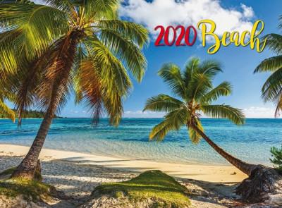 - Beach falinaptár - 2020