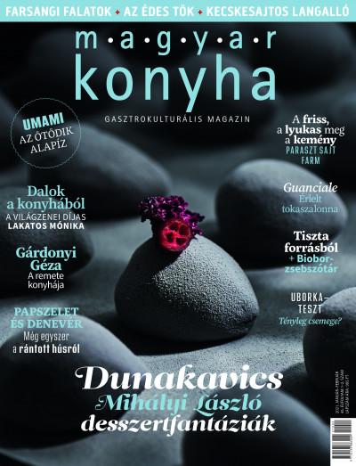 Sümegi Noémi  (Szerk.) - Vinkó József  (Szerk.) - Magyar Konyha - 2021. január-február (45. évfolyam 1-2. szám)