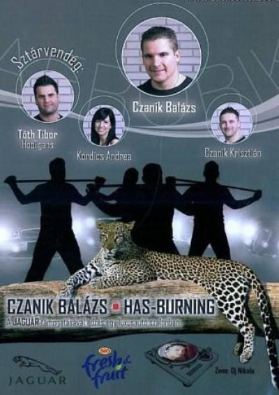 Szentgyörgyi Géza - Has-burning - DVD