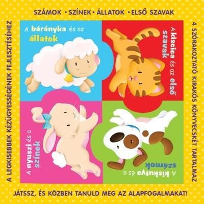 - Puzzle-könyvek - számok, színek, állatok, első szavak
