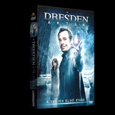 - A Dresden akták díszdoboz - DVD