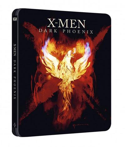 Simon Kinberg - X-Men: Sötét Főnix - limitált, fémdobozos Blu-ray