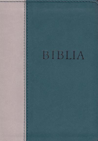 - Biblia - Revideált új fordítású - puhatábla zöld