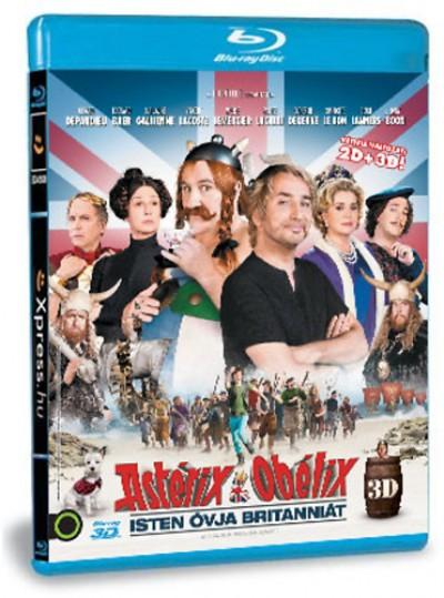 Laurent Tirard - Asterix & Obelix: Isten óvja Britanniát (3D Blu-ray)