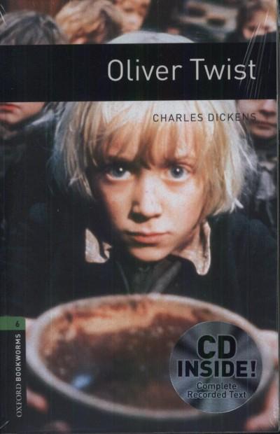 Charles Dickens - OLIVER TWIST - CD INSIDE