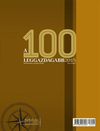 Domokos László  (Szerk.) - Szakonyi Péter  (Szerk.) - A 100 leggazdagabb 2018