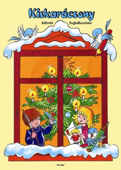 - Kiskarácsony -  kifestő foglalkoztató
