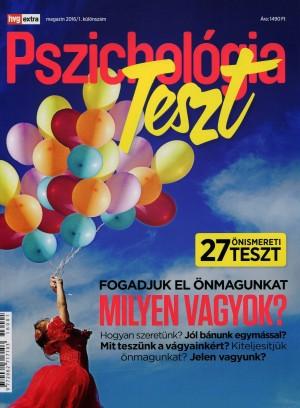 Sindelyes D�ra (SZERK.) - Sz�rnyi Krisztina (Szerk.) - Pszichol�gia - HVG Extra Magazin - Teszt k�l�nsz�m