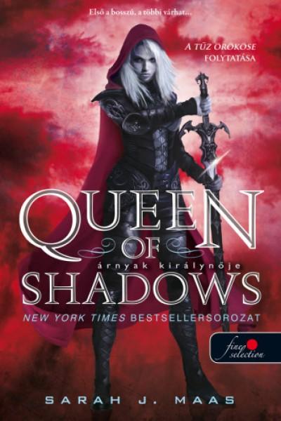 Sarah J. Maas - Queen of Shadows - Árnyak királynője (Üvegtrón 4.) - kemény kötés