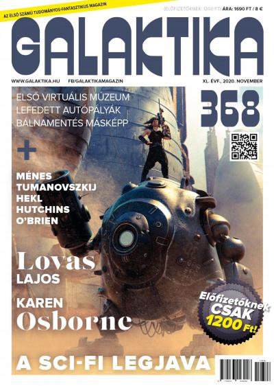 Németh Attila  (Szerk.) - Galaktika Magazin 368. szám - 2020. november