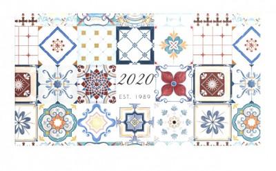 - Vintage - fekvő zsebnaptár - 2020