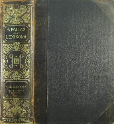 - A Pallas nagy lexikona XV. kötet