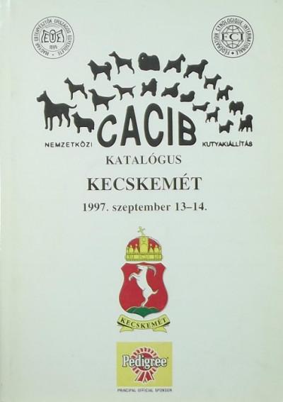 - Nemzetközi CACIB Kutyakiállítás katalógus