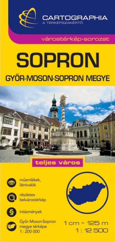 - Sopron várostérkép - Győr-Moson-Sopron megye térkép