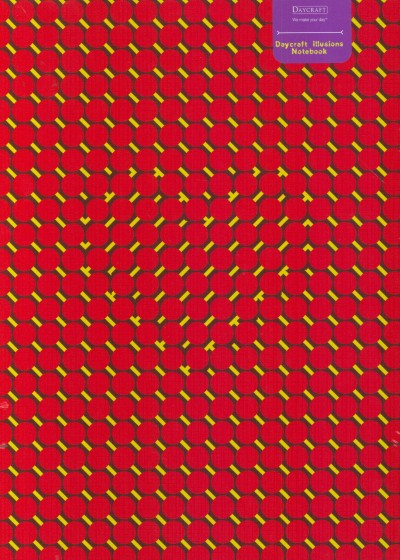 - Jegyzetkönyv A/4 _ Illúzió - piros