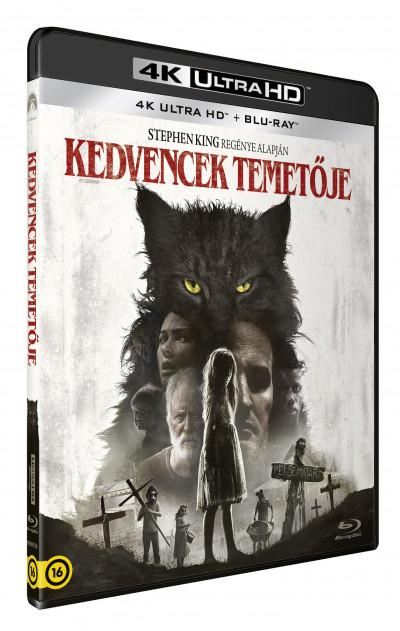 Kevin Kolsch - Dennis Widmyer - Kedvencek temetője (2019) - 4K UltraHD+Blu-ray