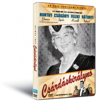 Szinetár Miklós - Honthy Hanna - Csárdáskirálynő - DVD