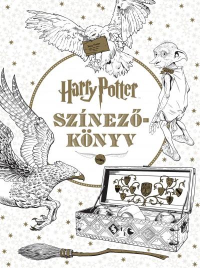 Várlaki Tibor  (Szerk.) - Harry Potter színezőkönyv