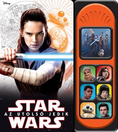 Harmos Noémi  (Szerk.) - Star Wars - Az utolsó jedik - Hangmodulos könyv