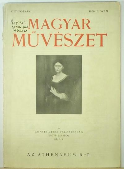 - Magyar Művészet 1929 6. szám