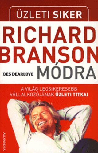 Üzleti siker Richard Branson módra